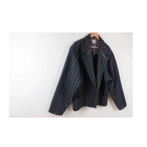 Vintage 80s Gianni Versace wool avant garde jacket
